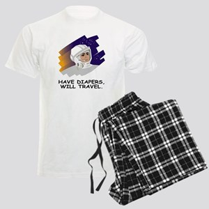NASA-Have-Diapers Men's Light Pajamas