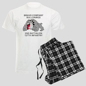 ARNG-127th-Infantry-B-Co-Shir Men's Light Pajamas
