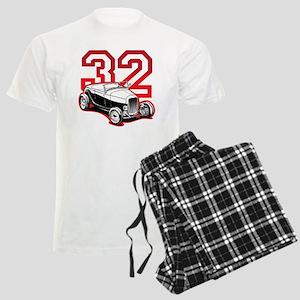 red 32 ford Men's Light Pajamas