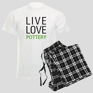 Live Love Pottery Men's Light Pajamas