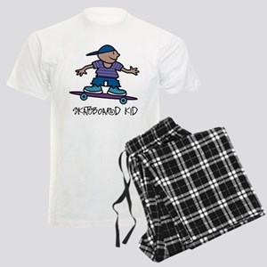 Skateboard Kid Men's Light Pajamas