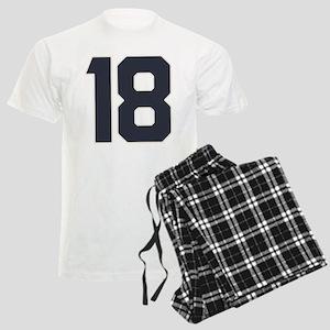 18 18th Birthday 18 Years Old Men's Light Pajamas