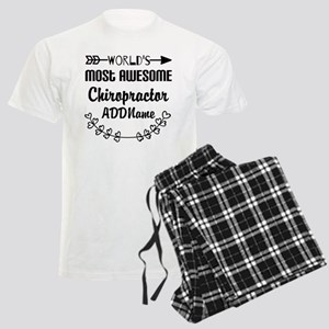 Personalized Worlds Most Awes Men's Light Pajamas