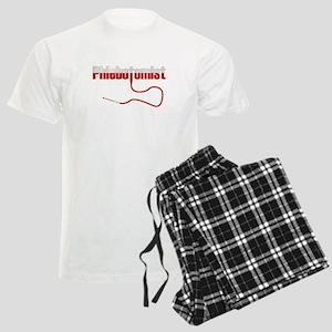 Phlebotomist with Needle Logo Men's Light Pajamas