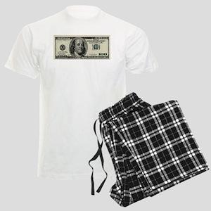 100 Dollar Bill Men's Light Pajamas