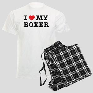 I Heart My Boxer pajamas