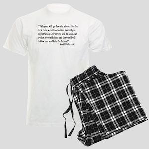 Gun Control Men's Light Pajamas
