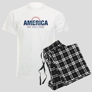 America- We Will Rise Men's Light Pajamas