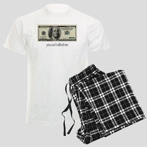 You Cant Afford Me Men's Light Pajamas