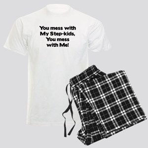 Don't Mes with My Step-Kids! Men's Light Pajamas