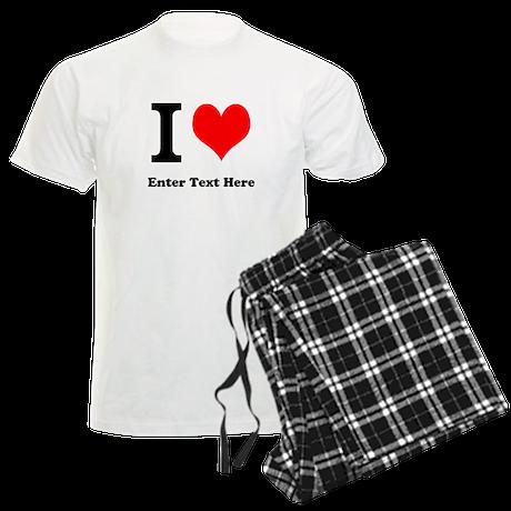 I love... Men's Light Pajamas