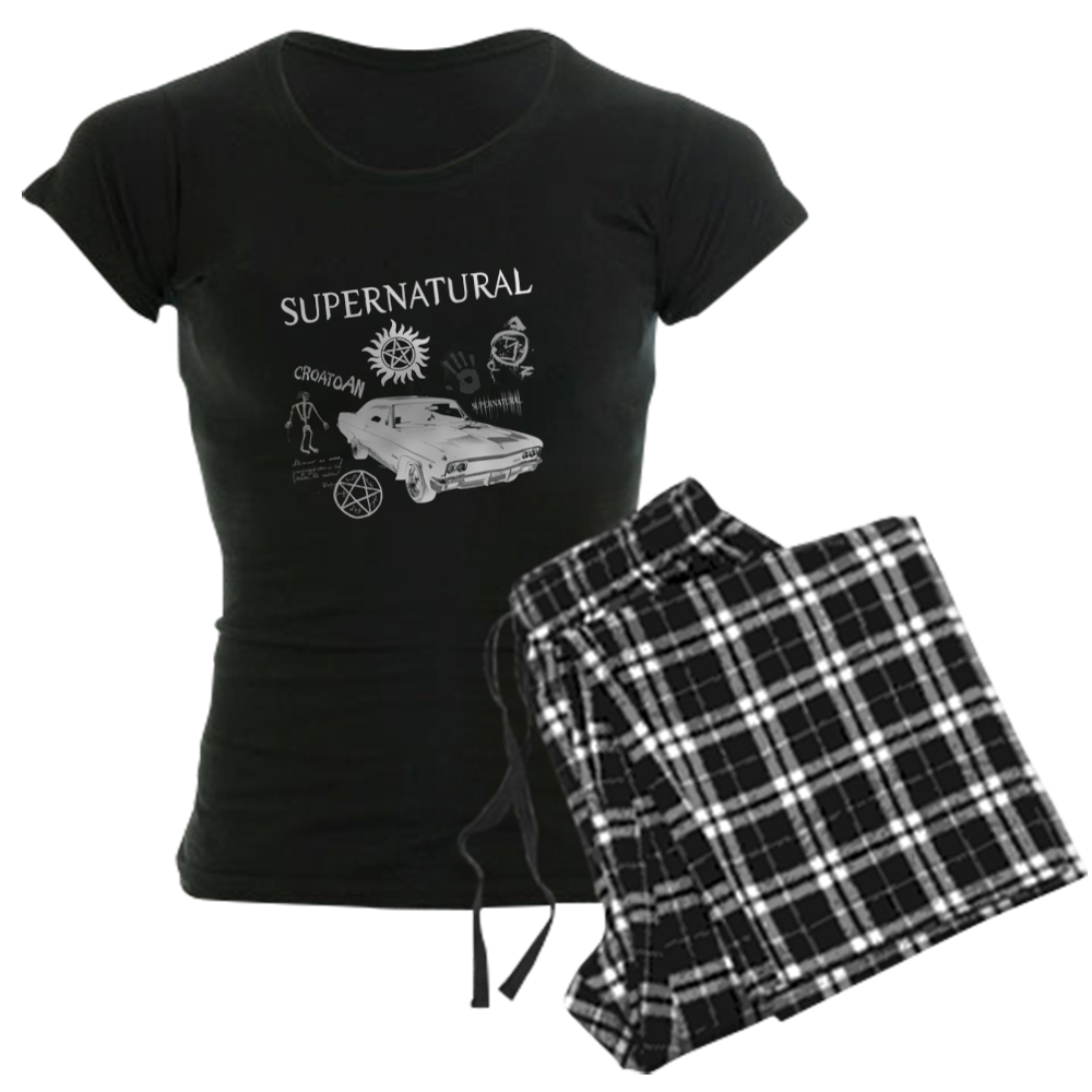 Supernatural Signs Pajamas