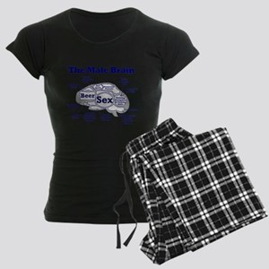 The Thinking Man's Women's Dark Pajamas