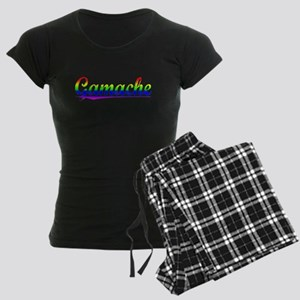 Gamache, Rainbow, Women's Dark Pajamas