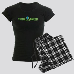 Think Green Women's Dark Pajamas