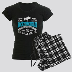 Rocky Mountain Vintage Women's Dark Pajamas