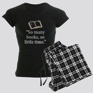 So many books - Women's Dark Pajamas