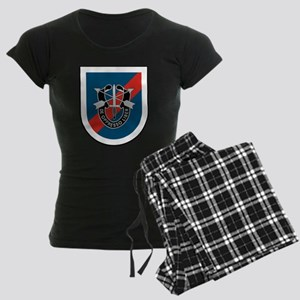 20th Special Forces Women's Dark Pajamas
