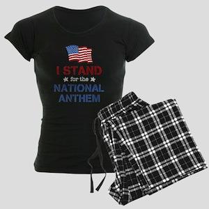 Stand For the Anthem Women's Dark Pajamas