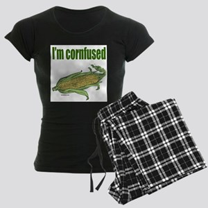 I'M CORNFUSED Women's Dark Pajamas