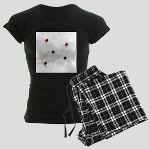Bang, Bang, bullet shot Women's Dark Pajamas