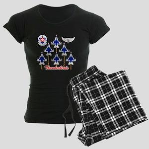 Thunderbirds Women's Dark Pajamas