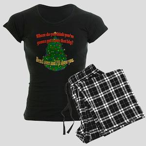 Griswold Christmas Tree Women's Dark Pajamas