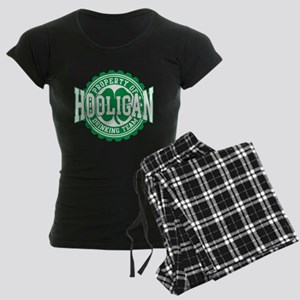 Hooligan Irish Drinking Team Women's Dark Pajamas
