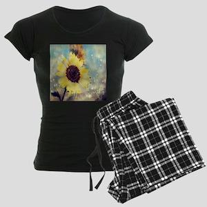 romantic summer watercolor s Women's Dark Pajamas