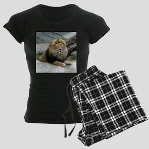 Lion_2014_1001 Women's Dark Pajamas