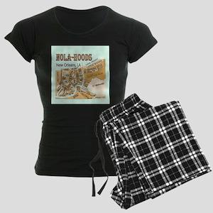 NOLA-Hoods Women's Dark Pajamas