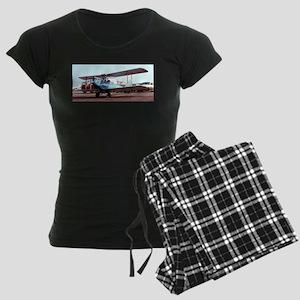 Bi-Plane 2 Women's Dark Pajamas