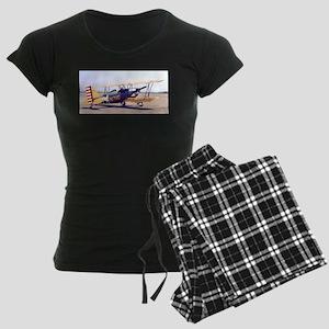 Bi-Plane 3 Women's Dark Pajamas
