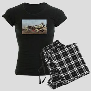 Plane 5 Women's Dark Pajamas