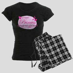 I'm the Princess Women's Dark Pajamas