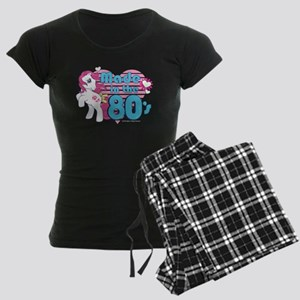 MLP Retro Made in the 80's Women's Dark Pajamas