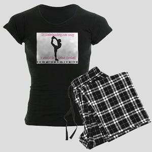 ifcheerleadingwaseasy copy Pajamas