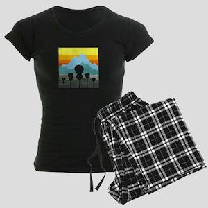 Mountain Music Women's Dark Pajamas