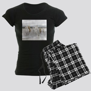 Horses Running On The Beach pajamas