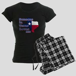 someone in texas loves me Women's Dark Pajamas