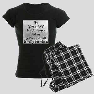 go fuck yourself Pajamas