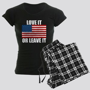 Love it or Leave it Women's Dark Pajamas