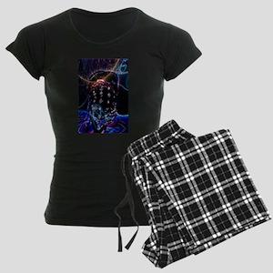 Third Eye Women's Dark Pajamas