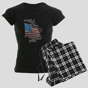 US Pledge - Women's Dark Pajamas