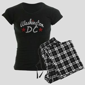 Retro Washington DC Women's Dark Pajamas