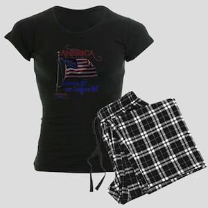 America Love It or Leave it Women's Dark Pajamas
