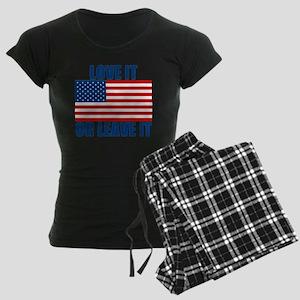 LOVEIT Women's Dark Pajamas