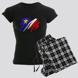 Acadian Women's Dark Pajamas