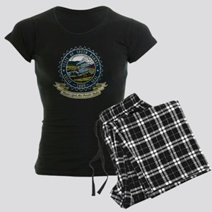 South Dakota Seal Women's Dark Pajamas