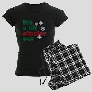 nippley copy Women's Dark Pajamas